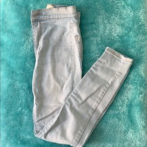 Garage High Waisted Roller Jeans